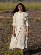 Kora Mulmul Dress - DRESSES - IKKIVI - Shop Sustainable & Ethical Fashion