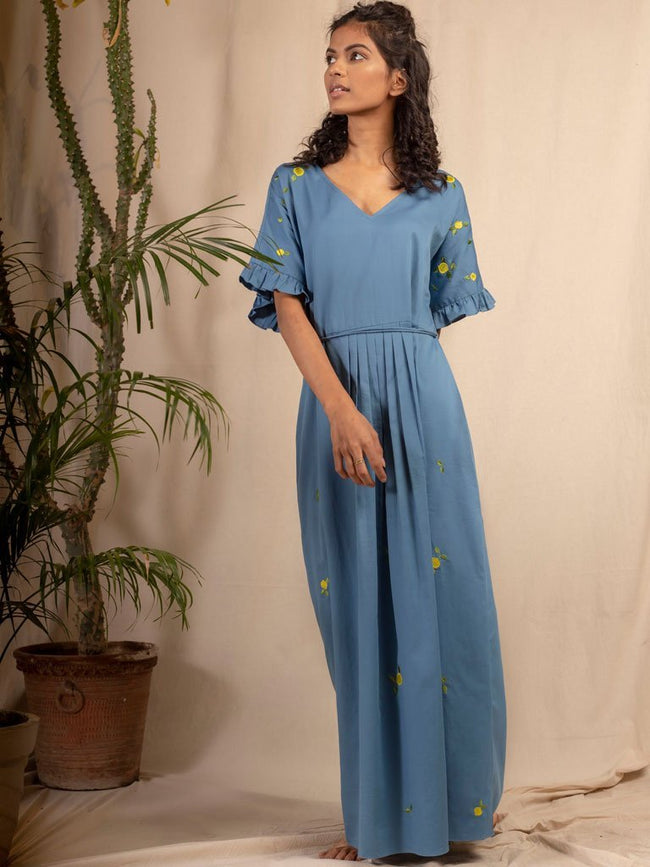 Lemon Skies Dress - DRESSES - IKKIVI - Shop Sustainable & Ethical Fashion