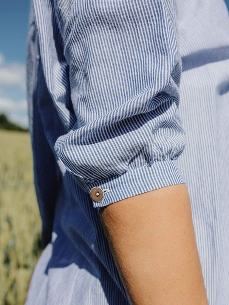 Long Shirt : Scotia detail