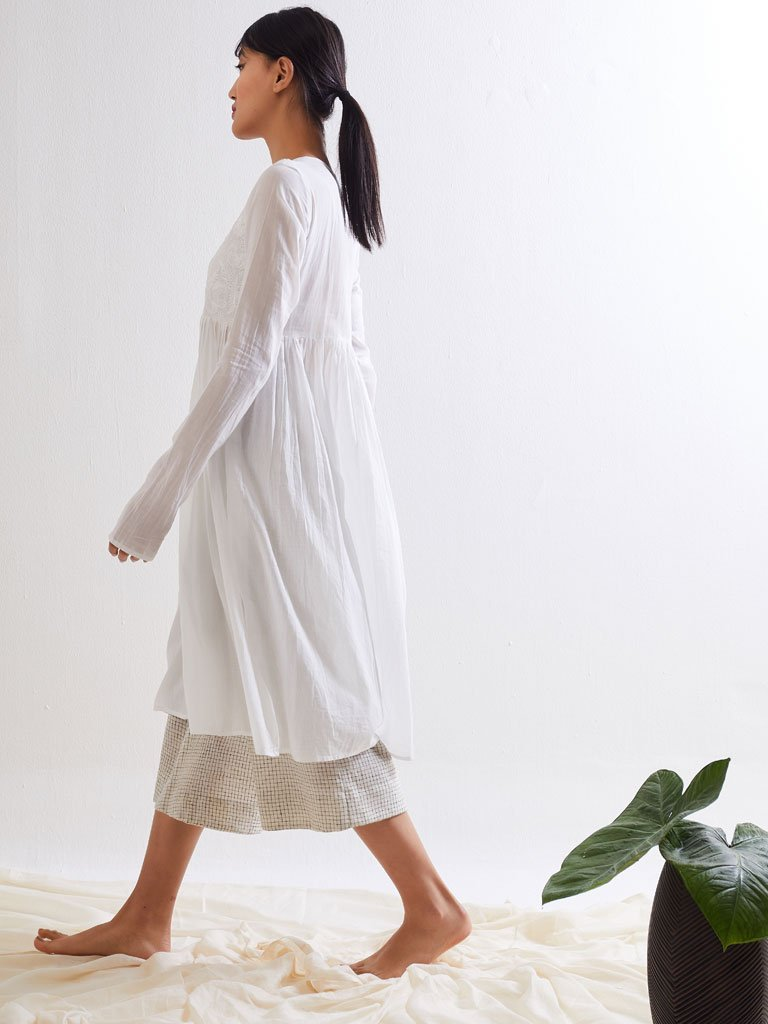 Lumino Gather Dress side