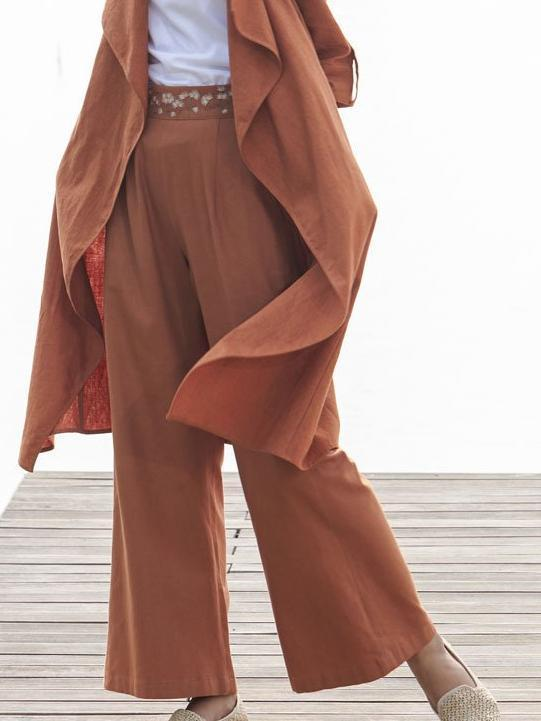 Big Sur Pants - SKIRTS & TROUSERS - IKKIVI - Shop Sustainable & Ethical Fashion