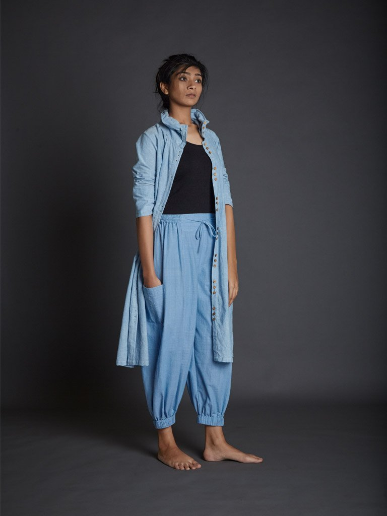 Light Blue Kazmira Pants front