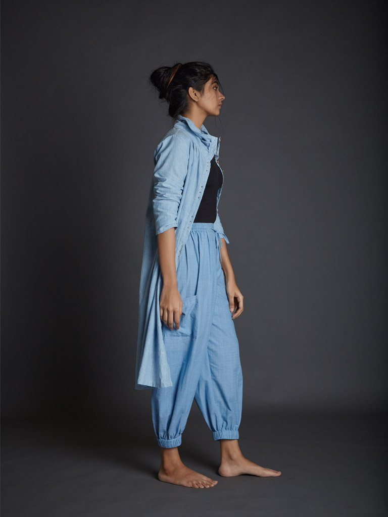 Light Blue Kazmira Pants side