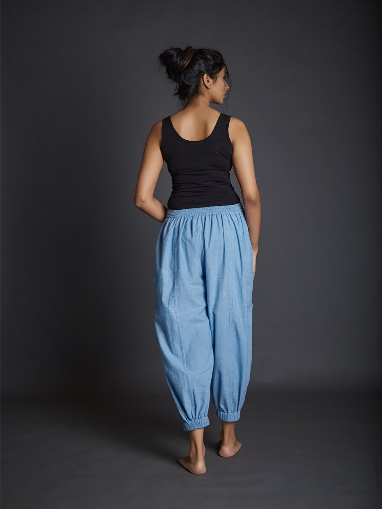 Light Blue Kazmira Pants back