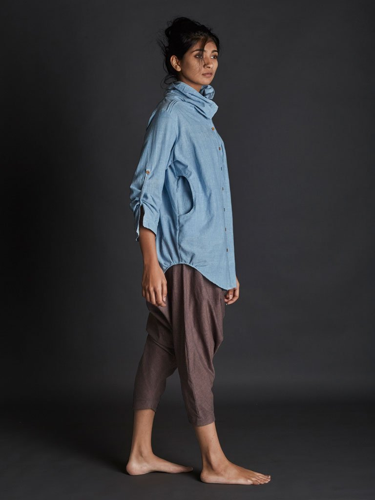 Light Blue New Ardra Shirt side