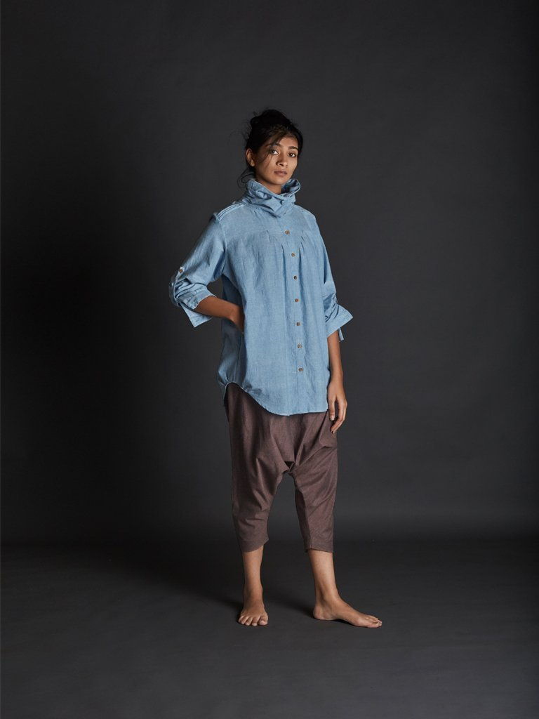 Light Blue New Ardra Shirt front