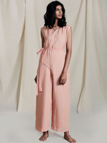 Snai Aakaar Jumpsuit - Jumpsuits - IKKIVI - Shop Sustainable & Ethical Fashion