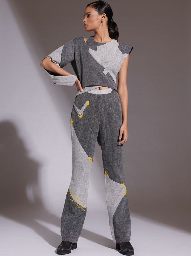Desu Top and Yora Pants - SKIRTS & TROUSERS - IKKIVI - Shop Sustainable & Ethical Fashion