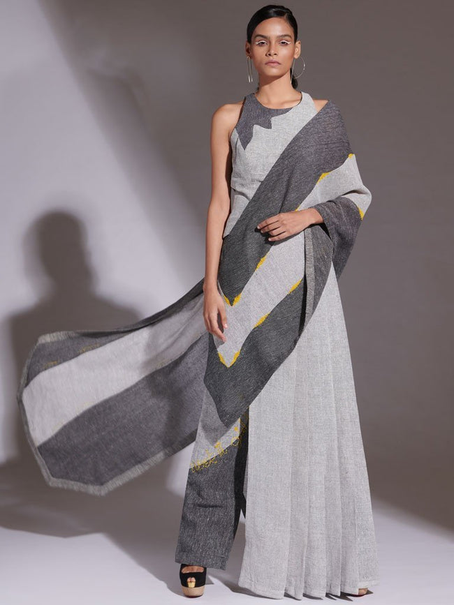 Kara Saree Set - SAREES - IKKIVI - Shop Sustainable & Ethical Fashion
