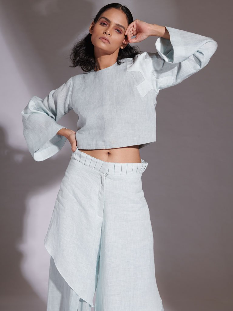 Kibo Top & Hokori Pants - SKIRTS & TROUSERS - IKKIVI - Shop Sustainable & Ethical Fashion