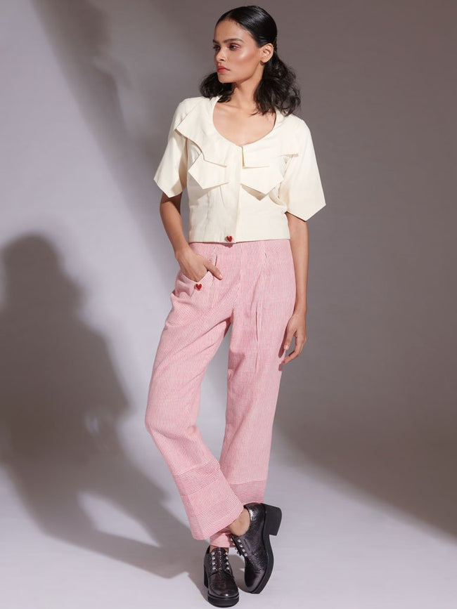 Baranasu Top & Helwa Pants - SKIRTS & TROUSERS - IKKIVI - Shop Sustainable & Ethical Fashion