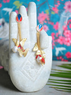 Papillon - Butterfly Motif Earrings - Jewellery - IKKIVI - Shop Sustainable & Ethical Fashion