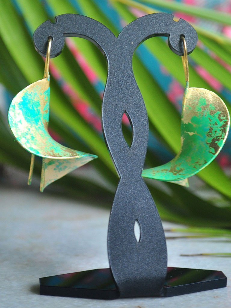 Vortex Earrings - Jewellery - IKKIVI - Shop Sustainable & Ethical Fashion
