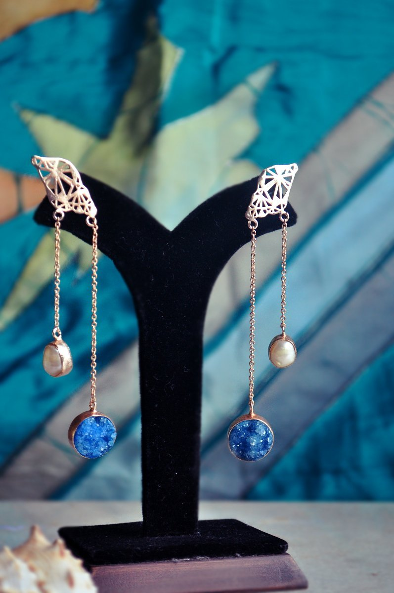 Rift Earrings - Jewellery - IKKIVI - Shop Sustainable & Ethical Fashion