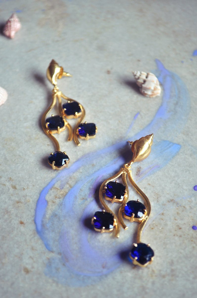 Cascade Earrings - Jewellery - IKKIVI - Shop Sustainable & Ethical Fashion