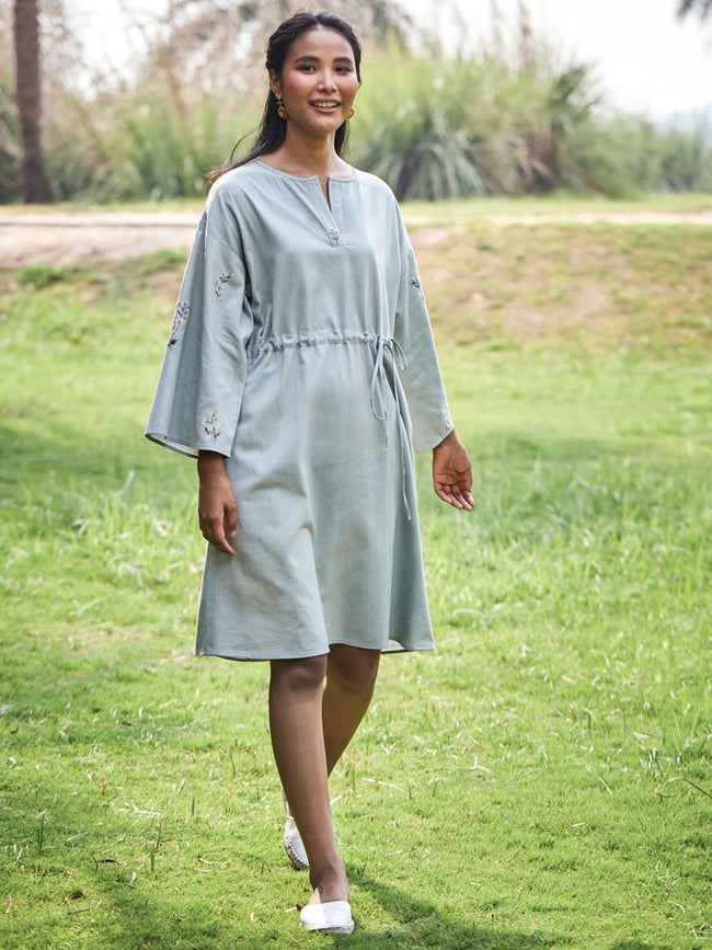 Chasing Blue Skies Dress - DRESSES - IKKIVI - Shop Sustainable & Ethical Fashion