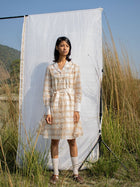 Shawl Collar Dress - DRESSES - IKKIVI - Shop Sustainable & Ethical Fashion