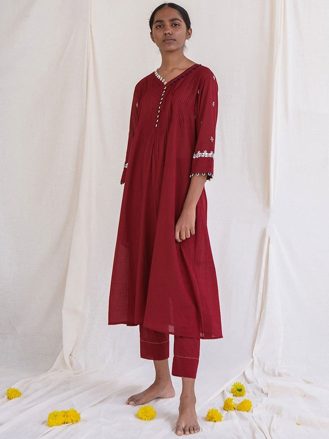 Majem Kurta - TOPS - IKKIVI - Shop Sustainable & Ethical Fashion