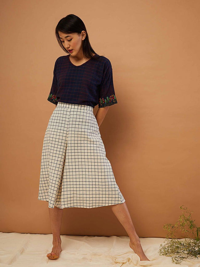 Prairie Palazzo Pants - SKIRTS & TROUSERS - IKKIVI - Shop Sustainable & Ethical Fashion
