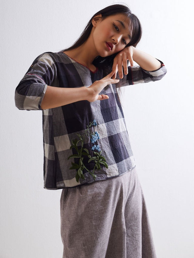 The Botany Blanket Top - TOPS - IKKIVI - Shop Sustainable & Ethical Fashion