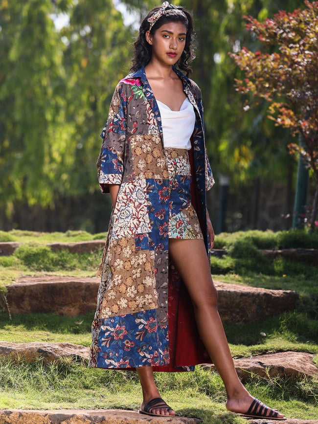 The Patchwork Long Jacket