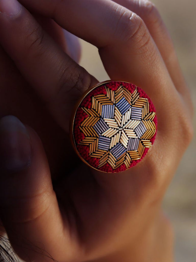 Sunbeam Ring - JEWELLERY - IKKIVI - Shop Sustainable & Ethical Fashion