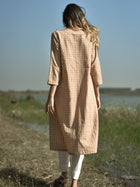 The Peachy Iced Tea Tunic Pants Set - DRESSES - IKKIVI - Shop Sustainable & Ethical Fashion