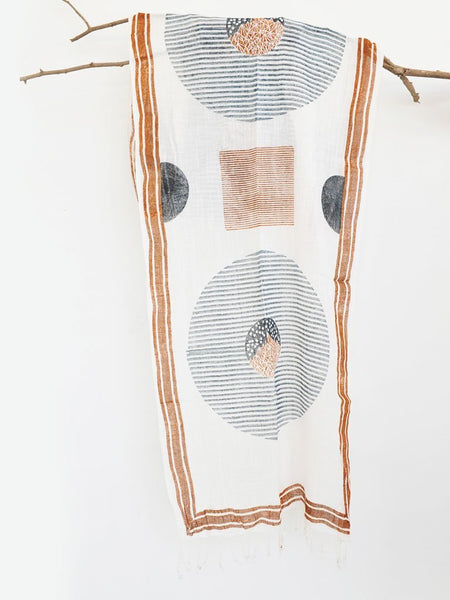 Hill Moon Scarf - ACCESSORIES - IKKIVI - Shop Sustainable & Ethical Fashion