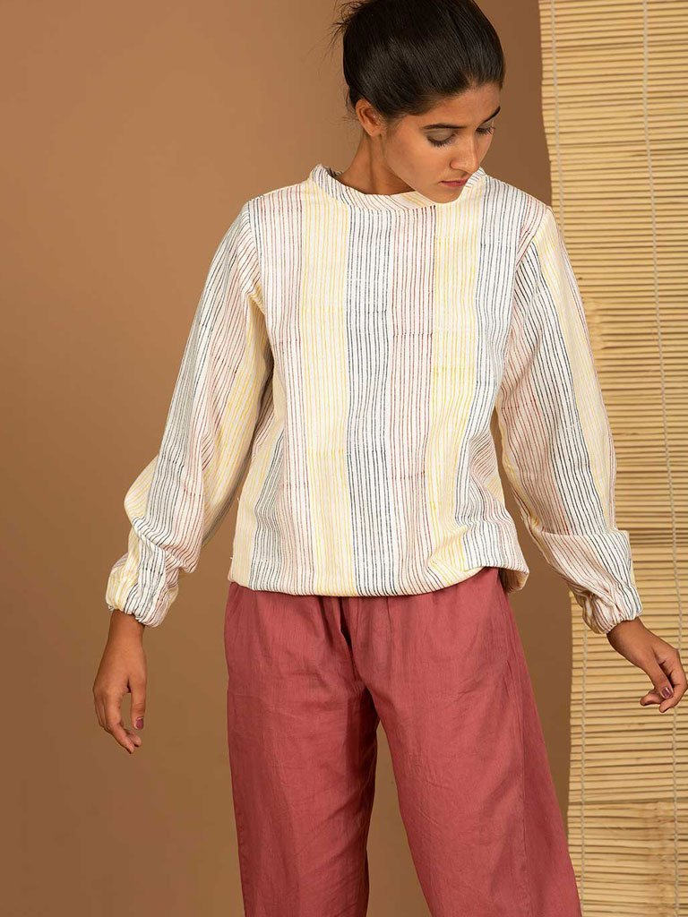 Stripe Jumper - TOPS - IKKIVI - Shop Sustainable & Ethical Fashion