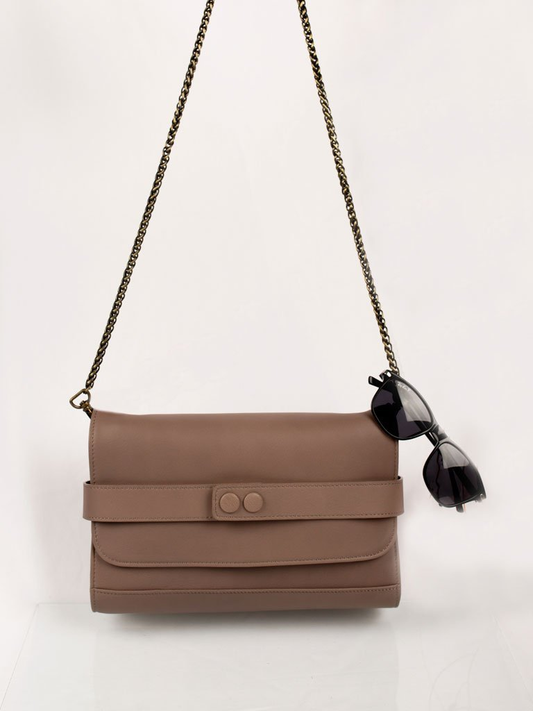 Bailey Sand Caramel - BAGS - IKKIVI - Shop Sustainable & Ethical Fashion