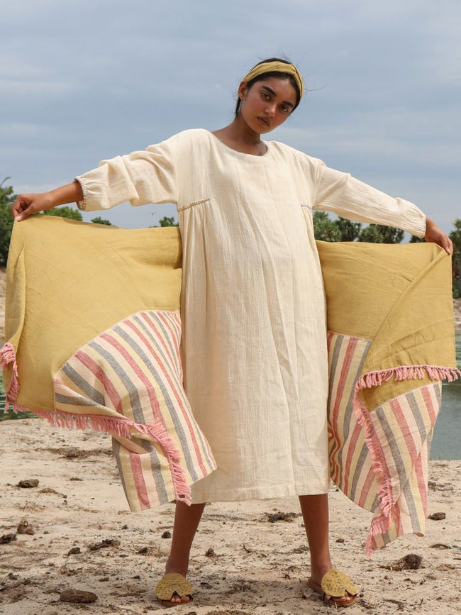 Shwet Dress - DRESSES - IKKIVI - Shop Sustainable & Ethical Fashion