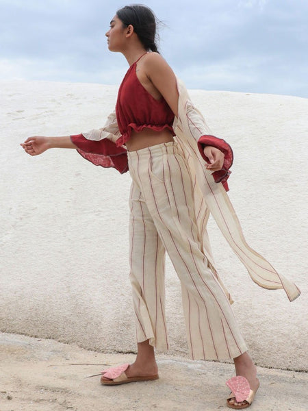 Ambhas Pants - SKIRTS & TROUSERS - IKKIVI - Shop Sustainable & Ethical Fashion