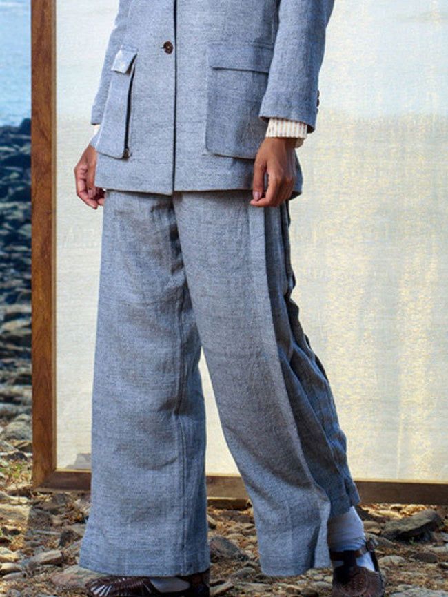 Diamond Trousers - BOTTOMS - IKKIVI - Shop Sustainable & Ethical Fashion