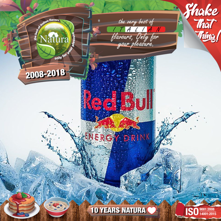 100ml  Energy Drink Bull Shortfill E-liquid (Red Bull)