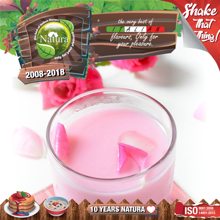 100ml Milk N' Roses Shortfill E-liquid (Rose Flavored Milk)
