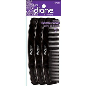 "5"" Pocket Styling Comb - 3 Pack"