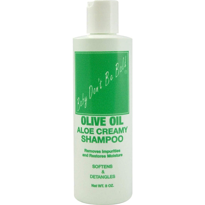 Baby Don't Be Bald Olive Oil Aloe Creamy Shampoo, 8 oz.