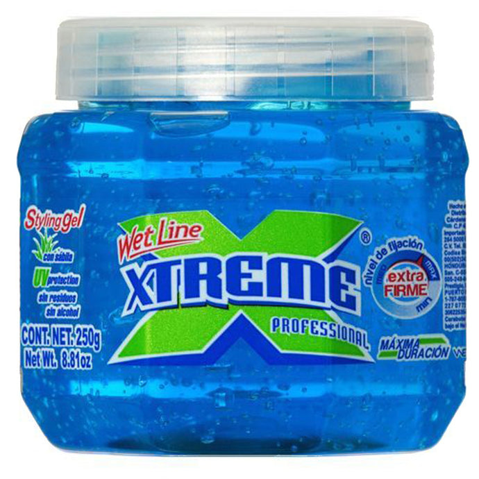 Xtreme Professional Wet Line Styling Gel, 8.82 oz