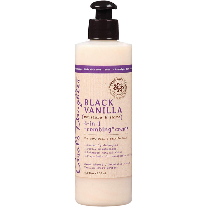 Carol's Daughter Black Vanilla 4-in-1 Combing Creme, 8 oz