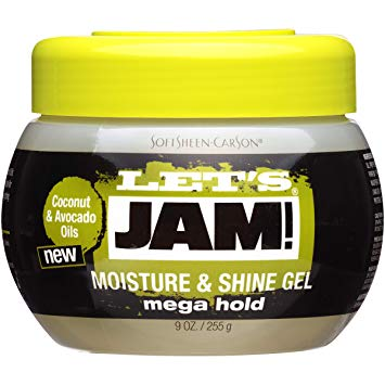 Dark & Lovely Let's Jam! Mega Hold Moisture and Shine Gel 9oz