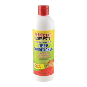 Africa's Best Deep Conditioner [Rinse-Out & Leave-In], 12 oz.