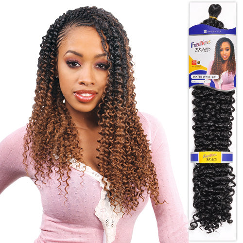 Freetress Braid Water Wave Bulk 22