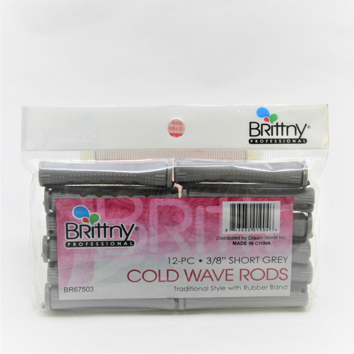 Brittny cold wave rods  12pcs  3/8
