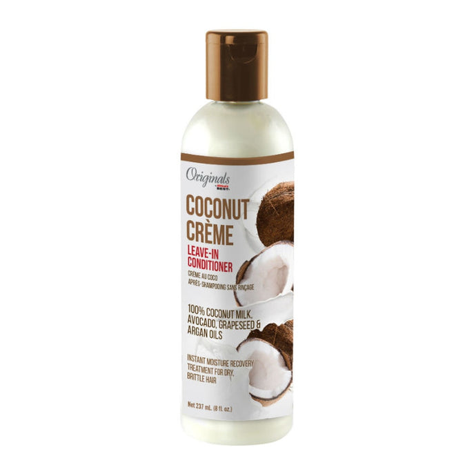 Africa's Best Originals Coconut Creme Leave-In Conditioner, 8 oz.