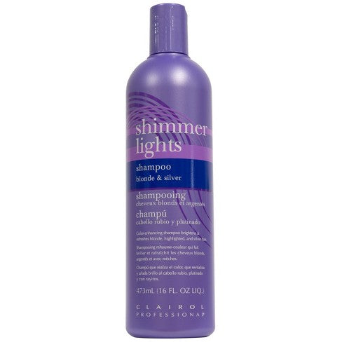 Clairol Shimmer Lights Shampoo, 16 oz.