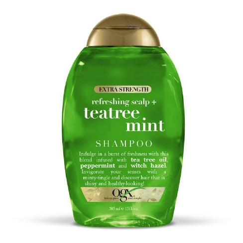 OGX Extra Strength Refreshing Scalp + Tea Tree Mint Shampoo - 13 fl oz