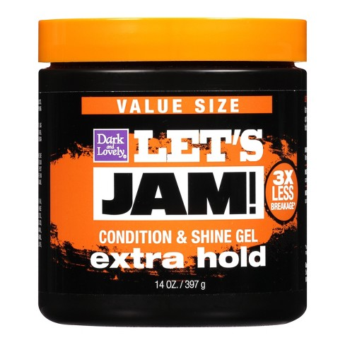 Dark & Lovely Let's Jam Shining/Conditioning Gel Extra Hold 14 oz