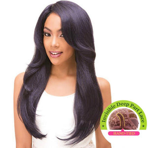 Janet Collection Natural Super FLow Deep Part Lace Premium Fiber Hair Wig - NOEL