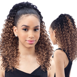 Freetress Equal Synthetic Drawstring Ponytail - LAGOON GIRL