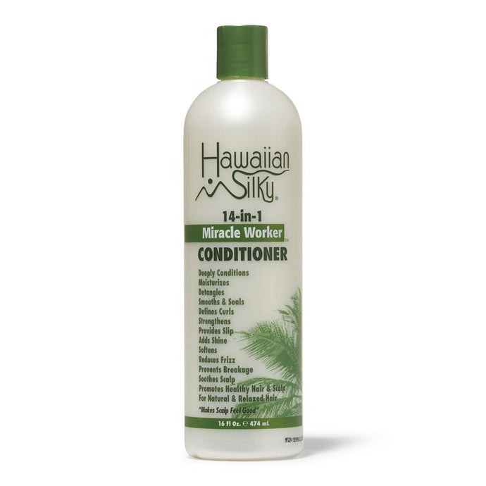Hawaiin Silky Miracle Worker Conditioner 14-1, 16 fl oz
